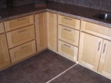 Dovetail Natural Maple Shaker RTA Cabinets