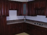 Cherry Glazed Maple RTA cabinets