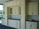 Creme Maple Glaze raised panel RTA cabinets (A7)