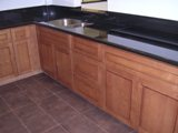 Cafe Maple flat panel Door RTA cabinets
