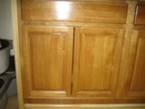 RTA Cabinet Broker 6C Red Oak Cathedral Arch Door