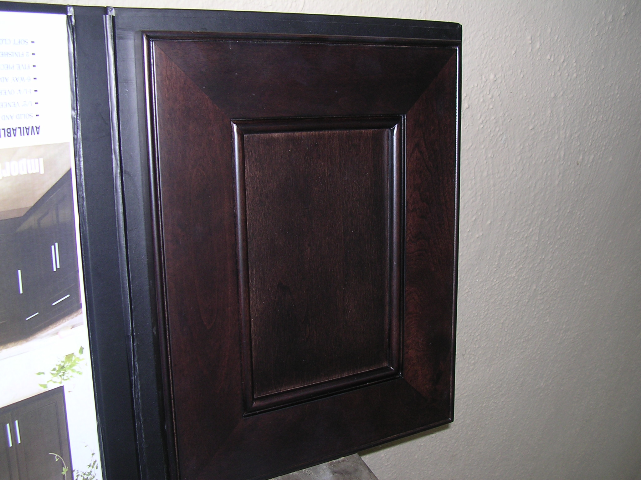 4d Chocolate Maple Recessed Panel Kitchen Cabinets Photo Album