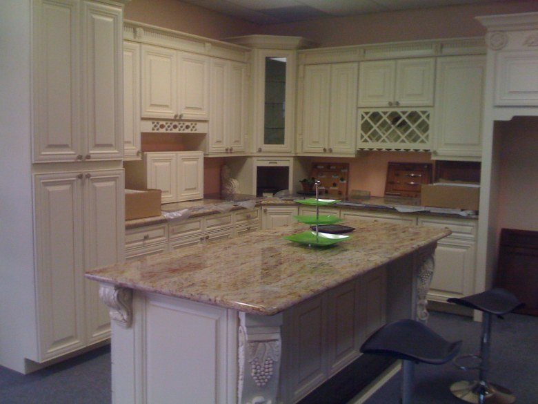 Rta Cabinet Broker 3b Cream Maple Glaze Cabinets Photo
