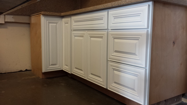 Rta Cabinet Broker 3m Pure White Painted Polular Raised