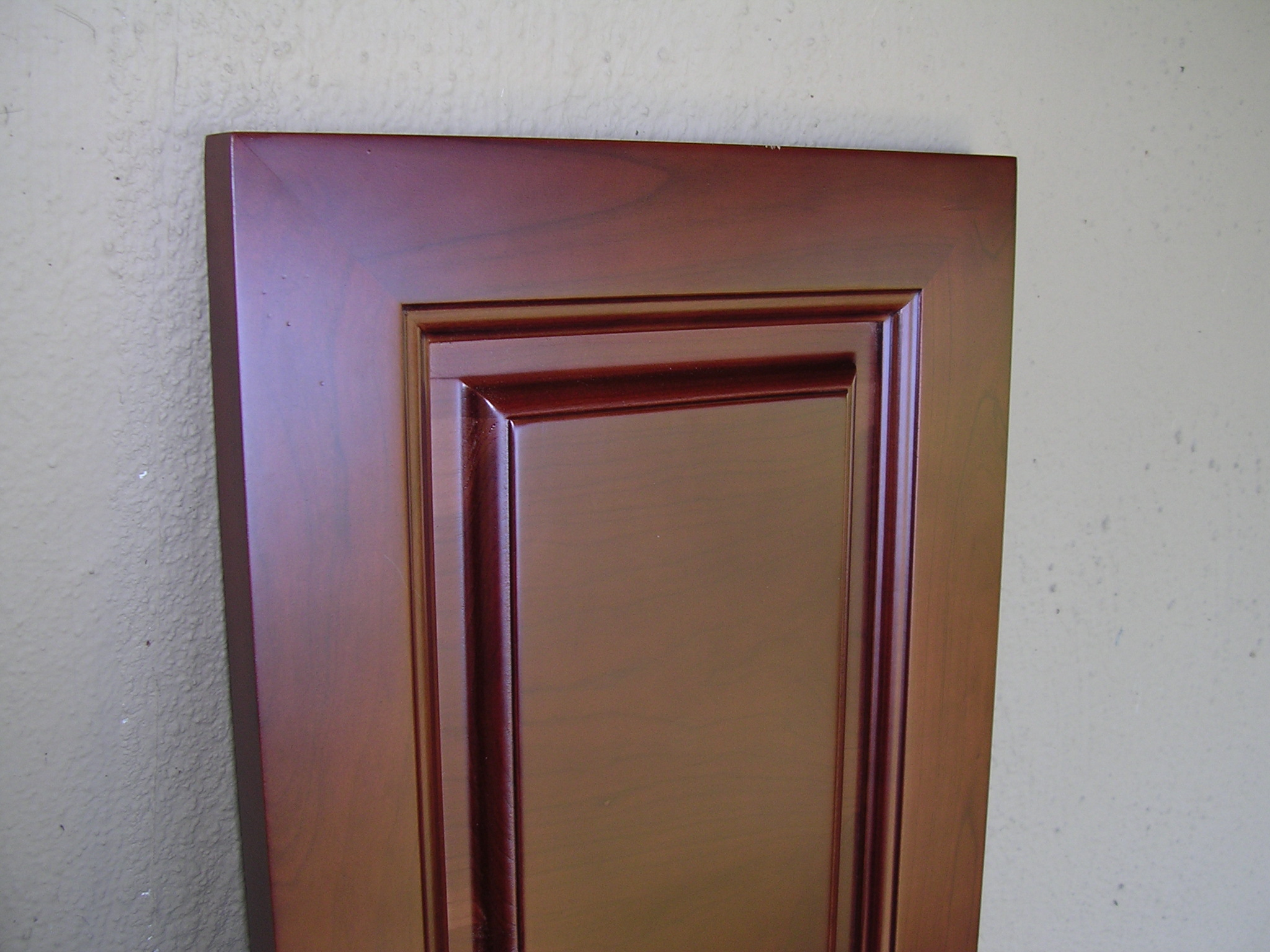 Rta Cabinet Broker 2q Natural American Cherry 2082