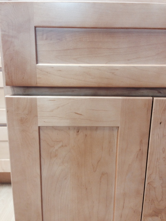 Rta cabinet broker 1p natural american maple shaker for American maple kitchen cabinets